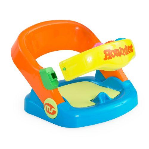 Asiento bebe baño giratorio naranja - 1318b