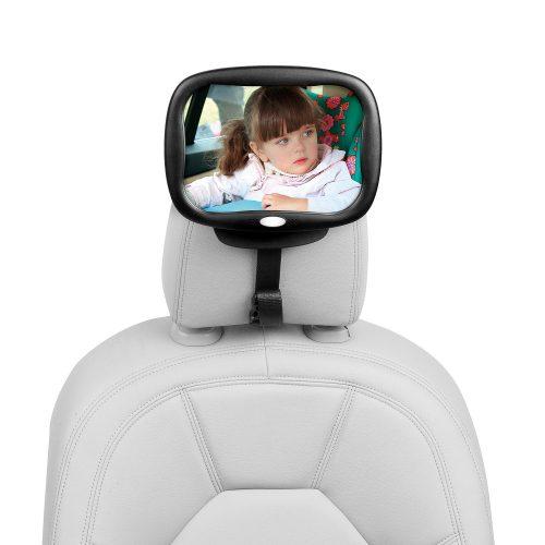 Espejo retrovisor con luz - 160808b