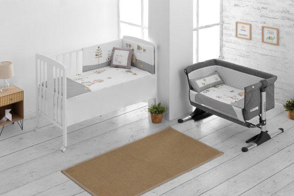 Textil minicuna colección friends - 301103b