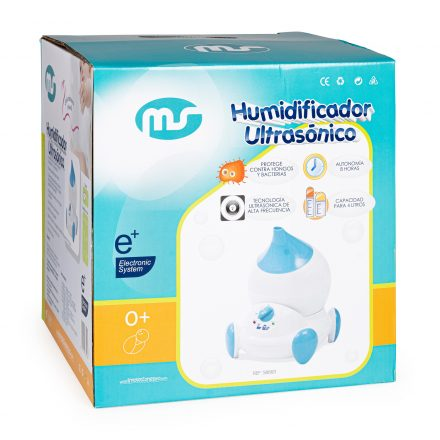Humidificador + ionizador