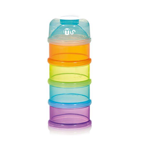 Dosificador apilable transparente bebes - 50604 a