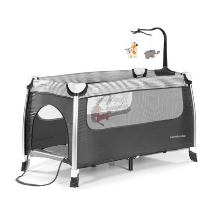 Complet oraz aluminiowe podróżne łóżeczko dziecięce