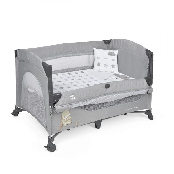 Cuna de viaje bebe Oxford Colecho + Textil - 630401A scaled