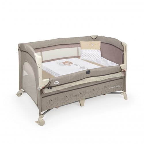 Cuna de viaje bebe Oxford Colecho + Textil - 630404D scaled