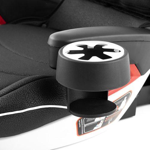 Silla bebe Booster fix con isofix y respaldo para coche - 837b